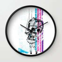 Deathly Chucky's Girl - Creepy Doll Wall Clock