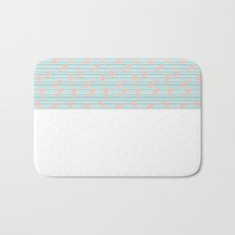 Minty palm Bath Mat