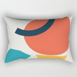 Abstract No.4 Rectangular Pillow
