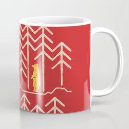 Sunlands - Bear T-Shirt, Bear, Nature, Geometric, Waterfall, Hiking gift, Walking, outdoors Coffee Mug