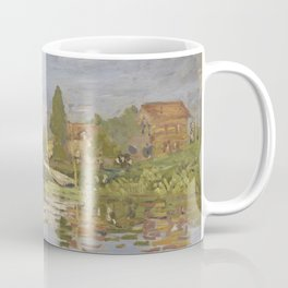Claude Monet Regattas at Argenteuil Coffee Mug
