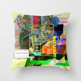 Just Sculpt It 1 Throw Pillow