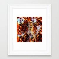 luke hemmings Framed Art Prints featuring LUKE by Saundra Myles