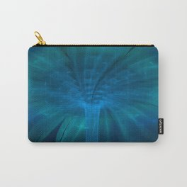 Fountain of Blue Light Carry-All Pouch