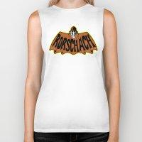 rorschach Biker Tanks featuring Rorschach by Buby87