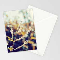 I sit in my garden, gazing upon a beauty that cannot gaze upon itself.   Stationery Cards