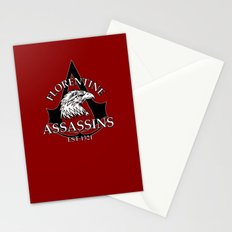Florentine Assassins Stationery Cards