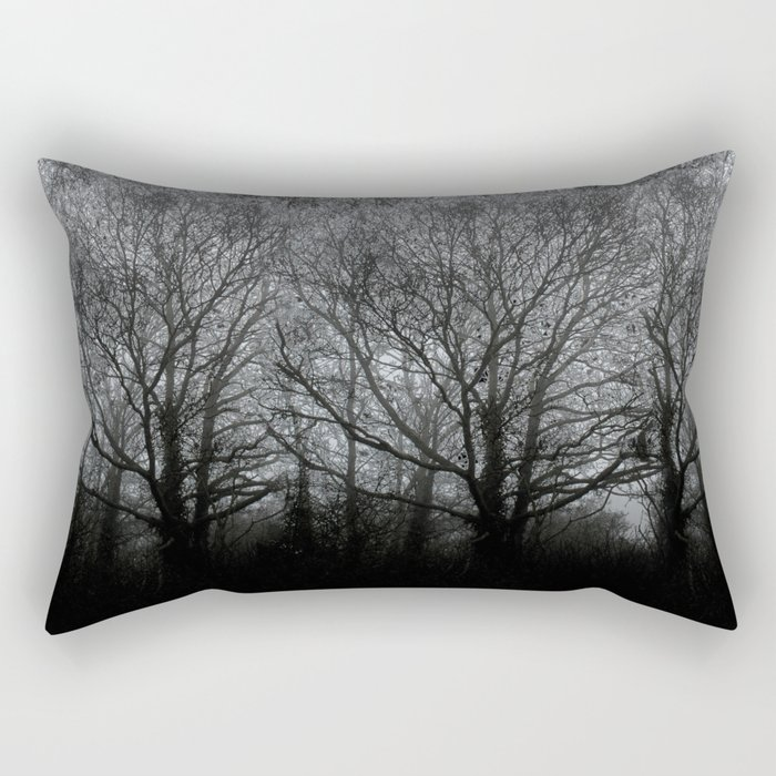 The trees of the mind are black. ' Rectangular Pillow
