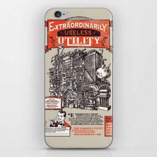 Extraordinarily Useless Utility iPhone & iPod Skin