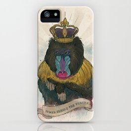 Mandy the Queen iPhone Case