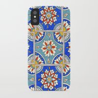 italian iPhone & iPod Cases featuring Italian Tiles by PeriwinklePeacoat