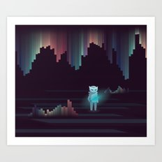 the adventure continues ! Art Print