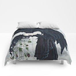 Despair Gothic Angel Comforters