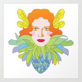 Futility Cornucopia Art Print