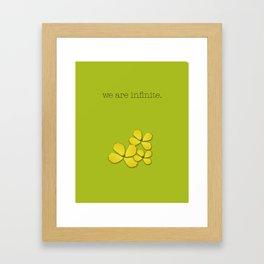 the perks of being a wallflower :: stephen chbosky Framed Art Print