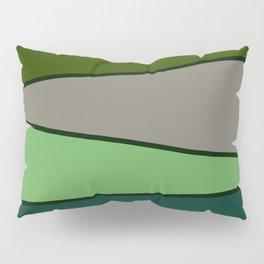 Green Saw Pillow Sham