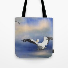Take Off by the Sea Tote Bag