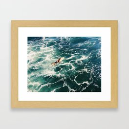 Surf SD Framed Art Print