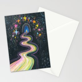 New path reveals itself Stationery Cards