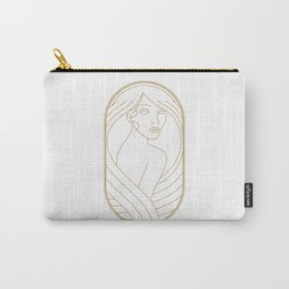 Girl Art Deco 10 Carry-All Pouch