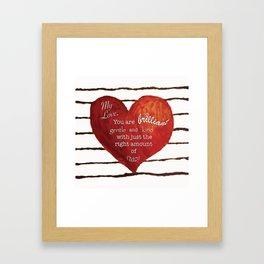 My Love, Framed Art Print