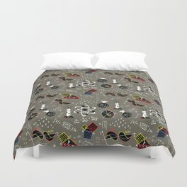 Science Fair Duvet Cover