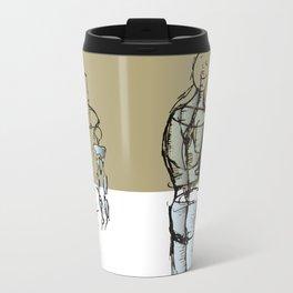 Glass people Travel Mug