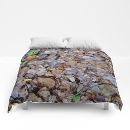 Last Years Fallen Foliage Comforters
