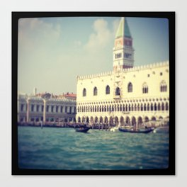 Grand canal, Venice Italy Canvas Print