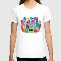 monsters T-shirts featuring Monsters by Maria Jose Da Luz