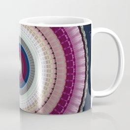 Decorative Wine Dark Blue Mandala Coffee Mug