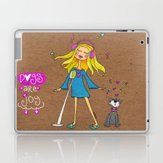 Dogs Are Joy ❤️ Laptop & iPad Skin