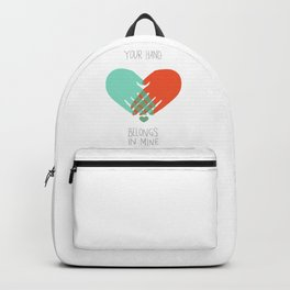 I wanna hold your hand Backpack