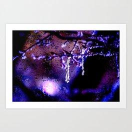 Concept frozen : Frozen Art Print