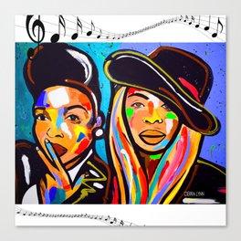 SOUL SISTAS Canvas Print