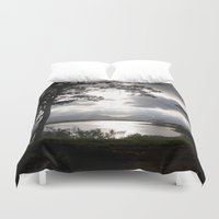 twilight Duvet Covers featuring Twilight by Rochester Studios