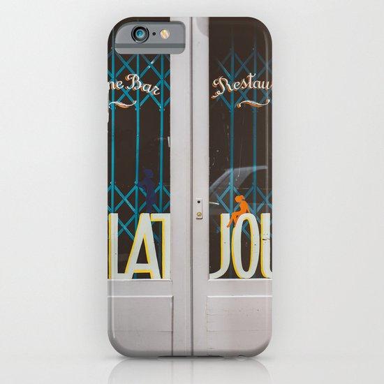 Plat du Jour iPhone & iPod Case
