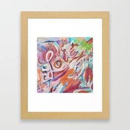 Love Grafitti Framed Art Print