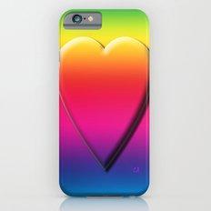One Heart Rainbow Slim Case iPhone 6s