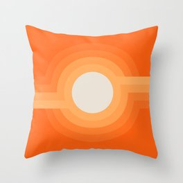 Moonspot - Creamsicle Throw Pillow