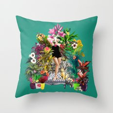 Cultivator Throw Pillow