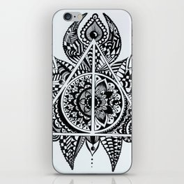 Deathly Hallows symbol iPhone Skin