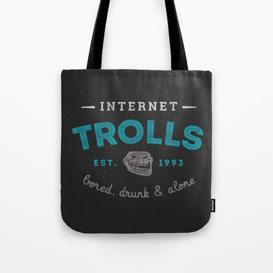 The Scourge of the Internet Tote Bag