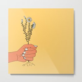 Hold On Tight To Summer Metal Print