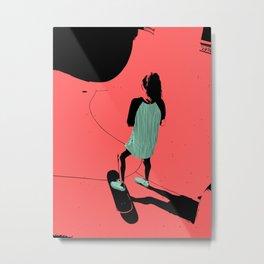S. K. 01 Metal Print