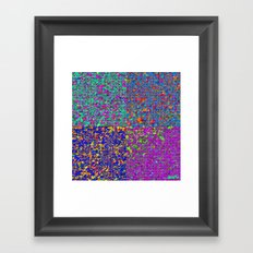 A is what is A Framed Art Print