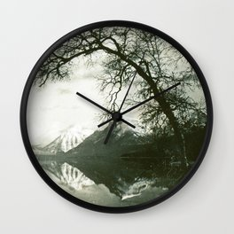 Glacier Park Lake McDonald August 1937 Wall Clock
