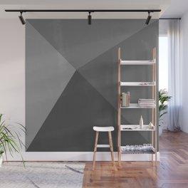 Pyramid - Black and White Wall Mural