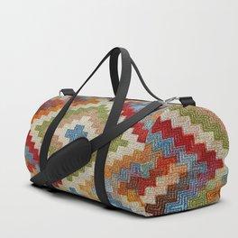 kilim rug pattern Duffle Bag