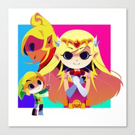 Wind Waker Poster Canvas Print